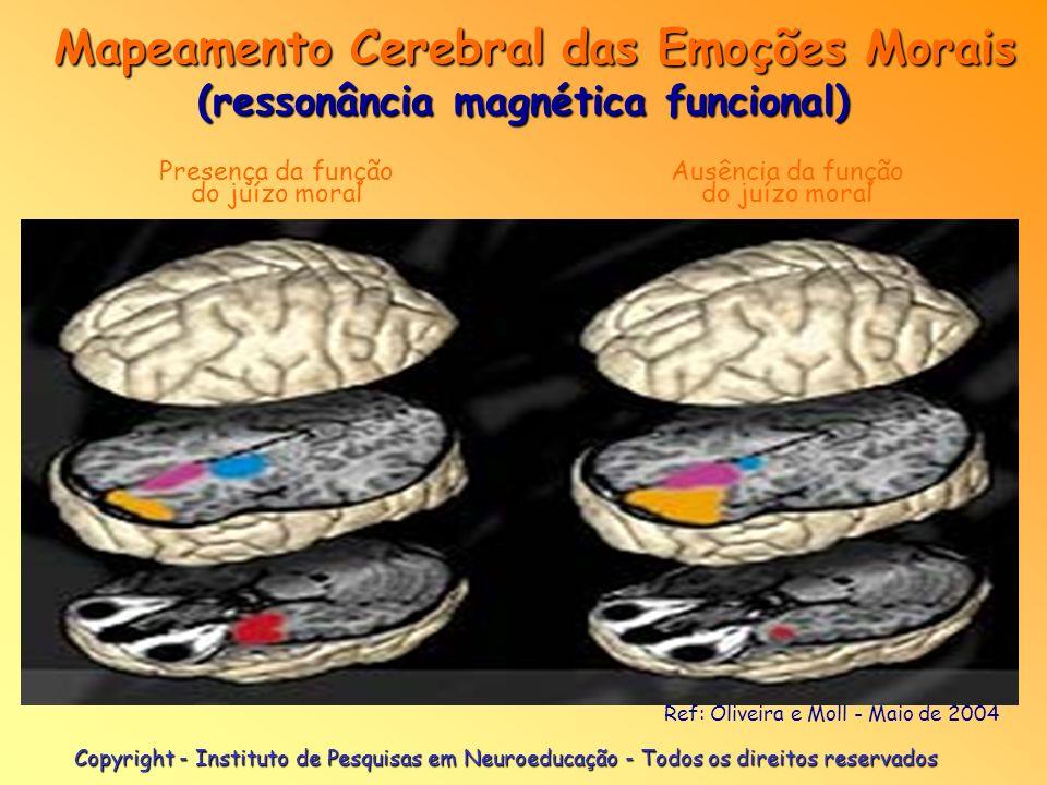 Mapeamento Cerebral das Emoções Morais (ressonância magnética funcional)