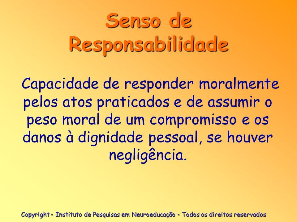 Senso de Responsabilidade