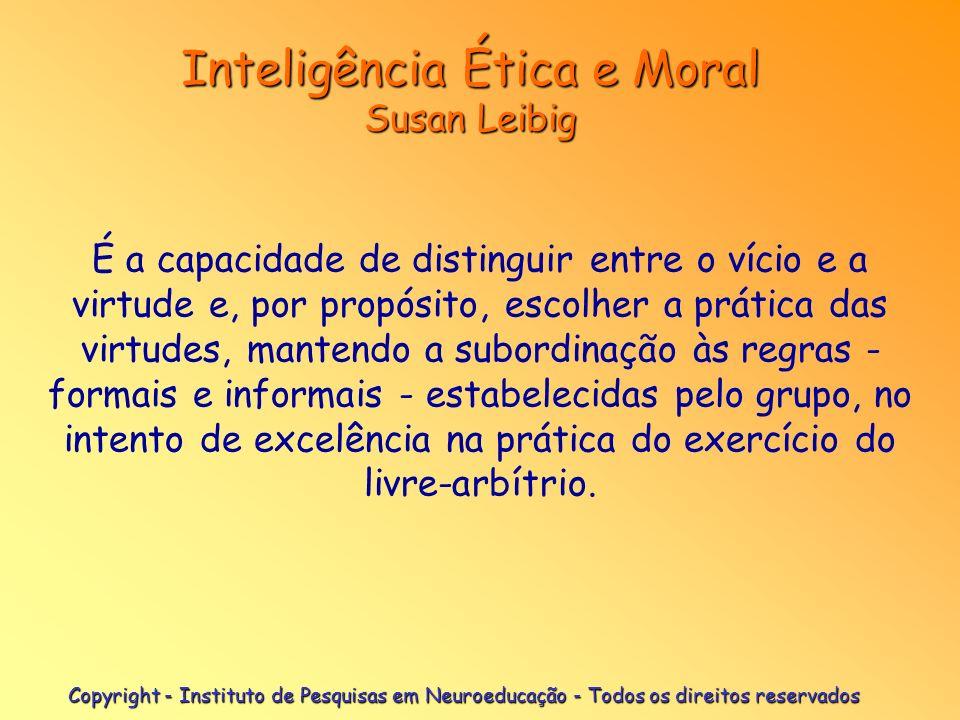 Inteligência Ética e Moral