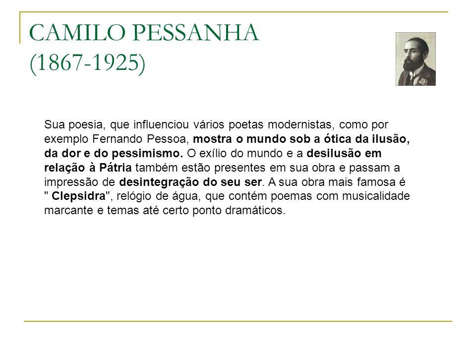 CAMILO PESSANHA (1867-1925)
