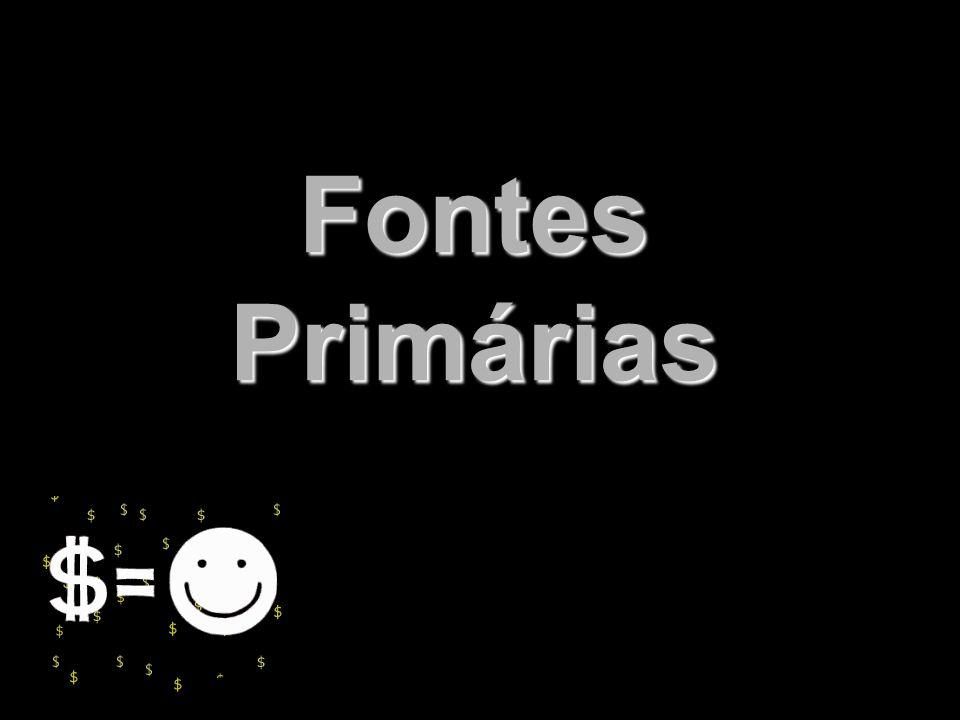 Fontes Primárias X Xx x