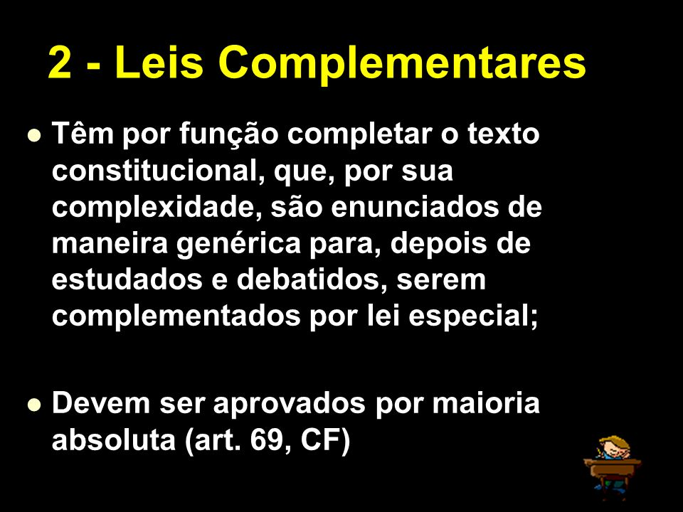 2 - Leis Complementares