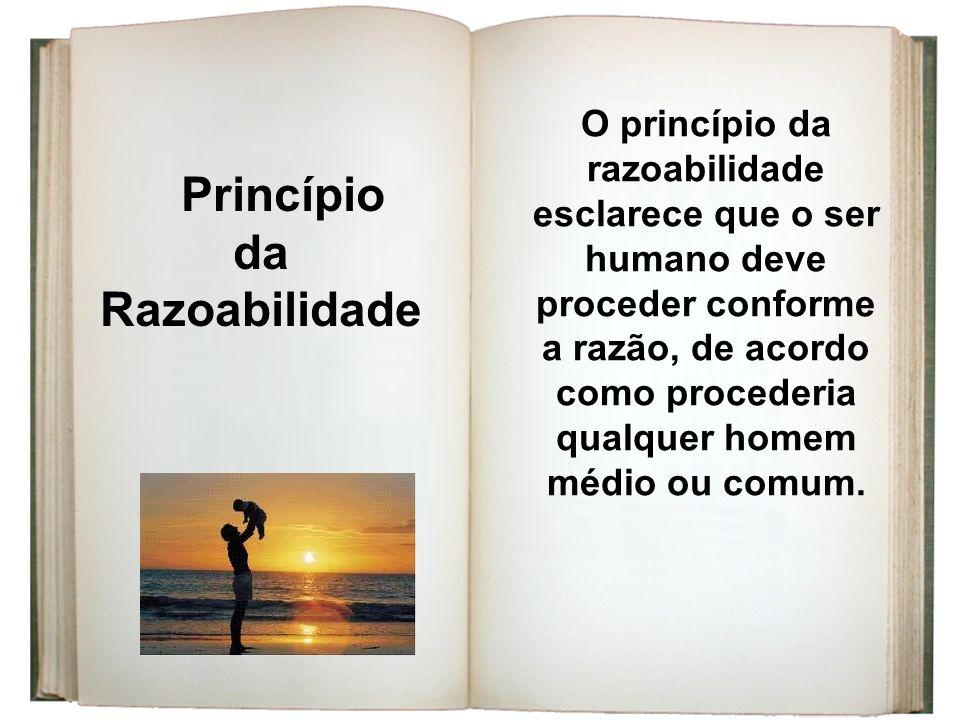 Princípio da Razoabilidade