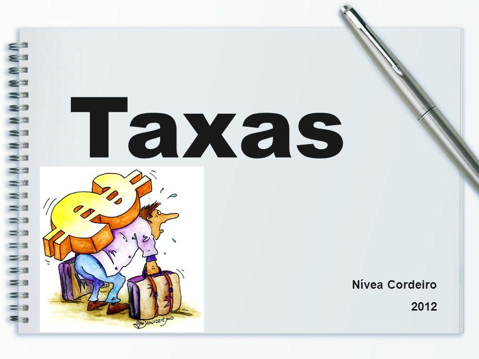 Taxas Nívea Cordeiro 2012