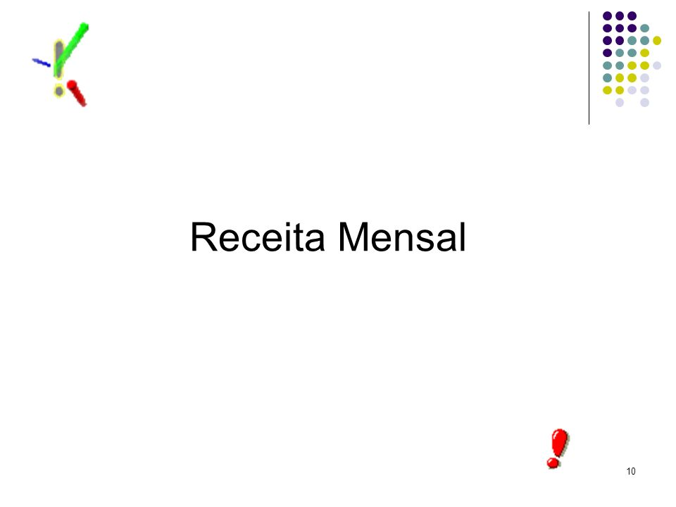 Receita Mensal