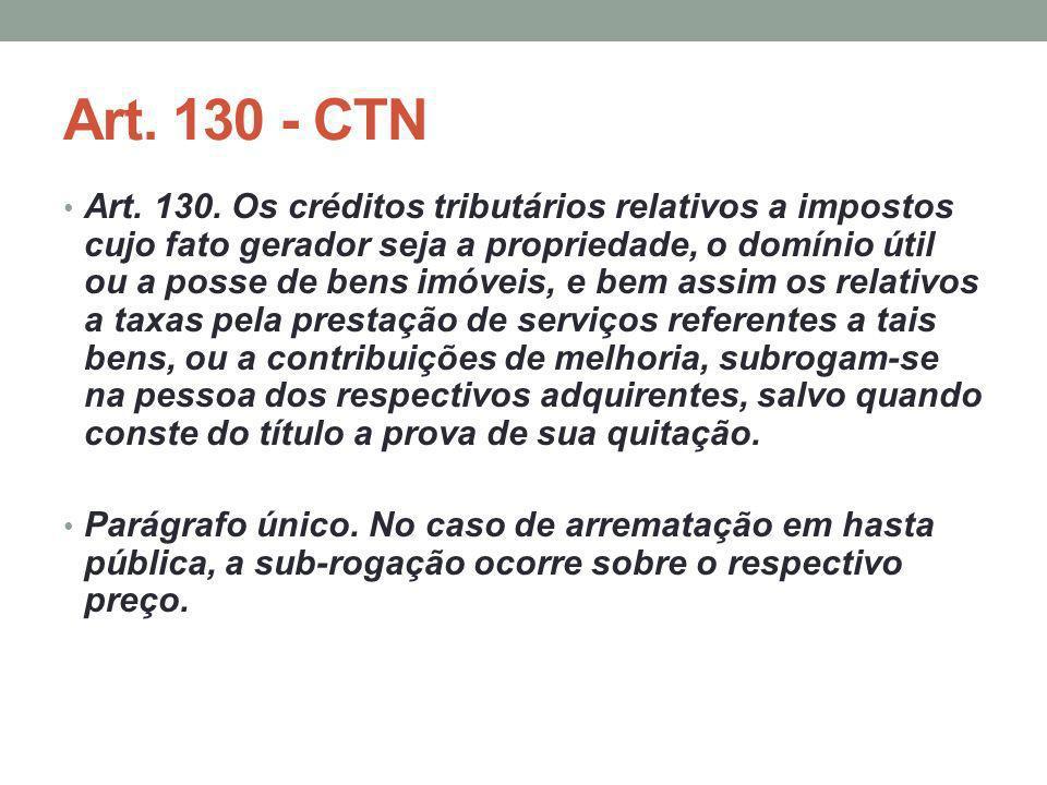 Art. 130 - CTN