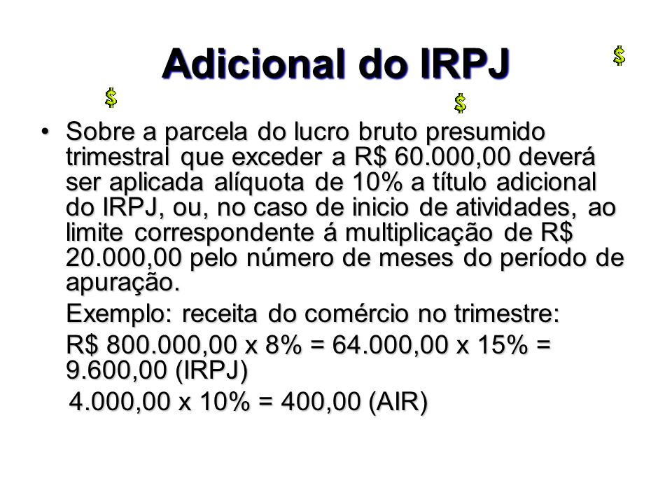 Adicional do IRPJ