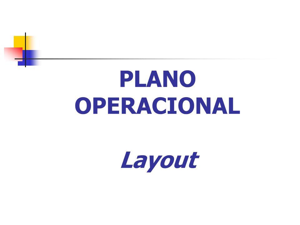 PLANO OPERACIONAL Layout