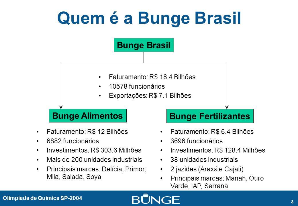 Quem é a Bunge Brasil Bunge Brasil Bunge Alimentos Bunge Fertilizantes
