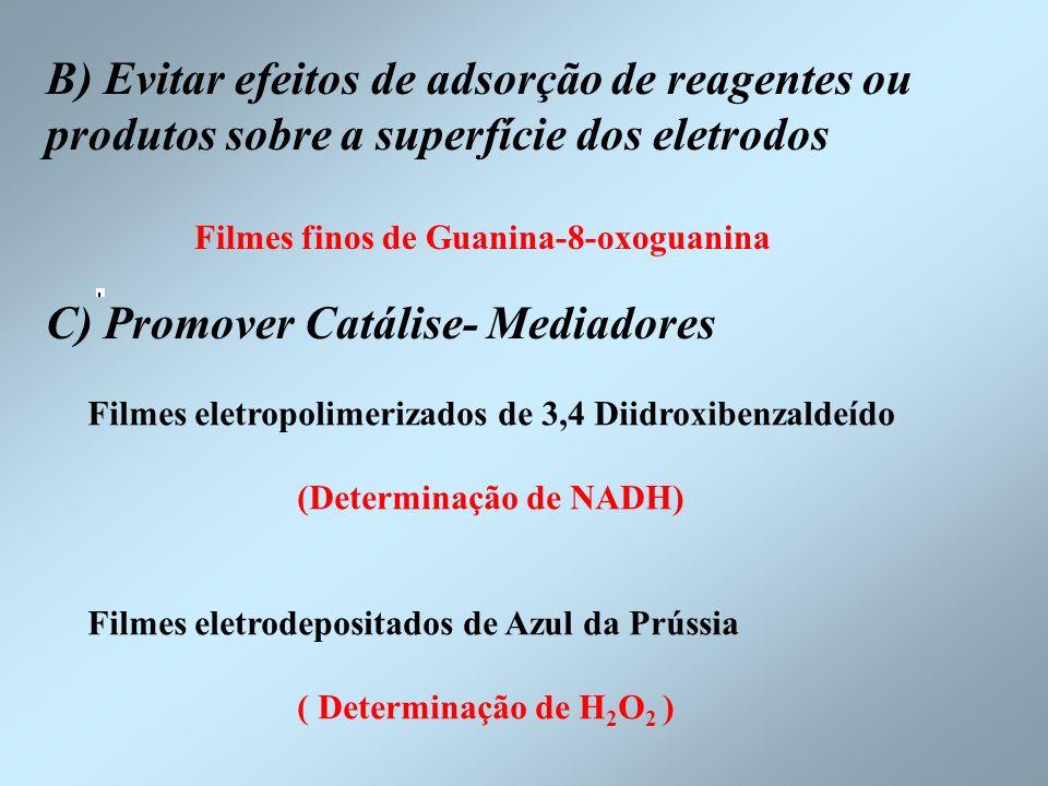 C) Promover Catálise- Mediadores