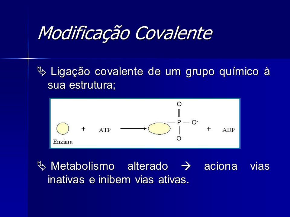 Modificação Covalente