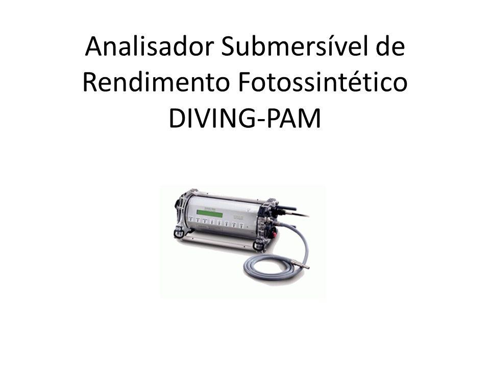 Analisador Submersível de Rendimento Fotossintético DIVING-PAM