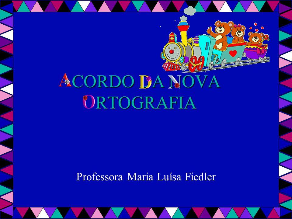 CORDO DA NOVA RTOGRAFIA