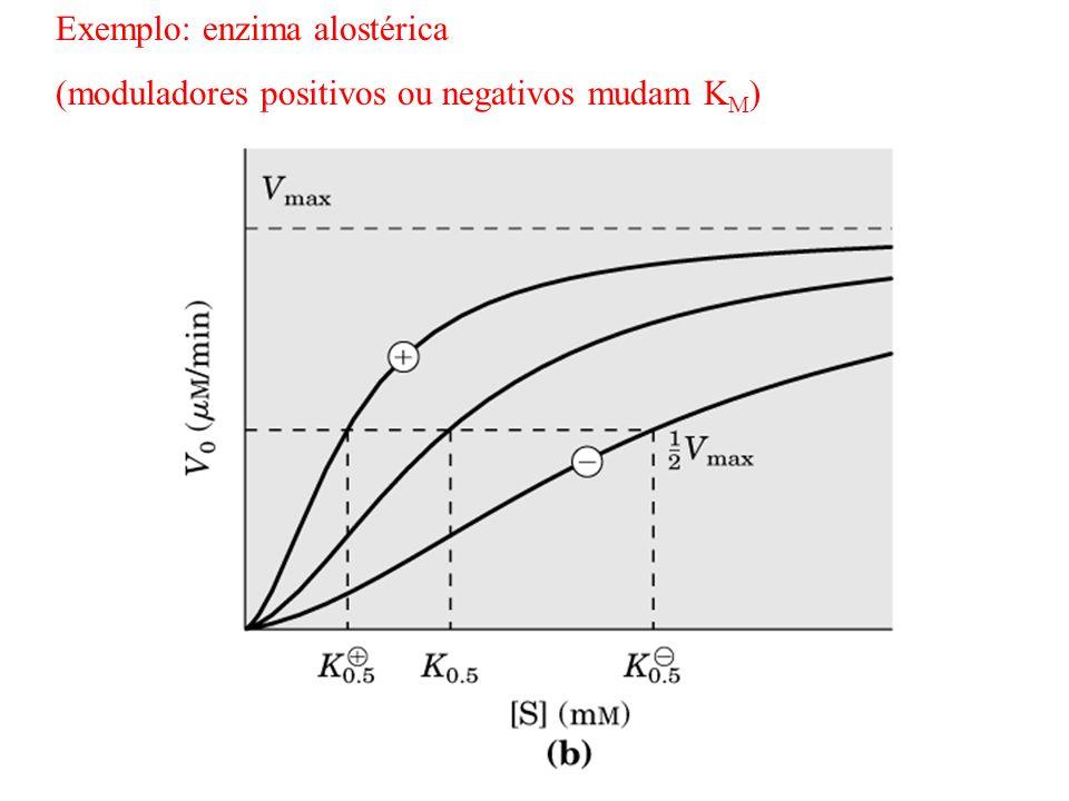 Exemplo: enzima alostérica