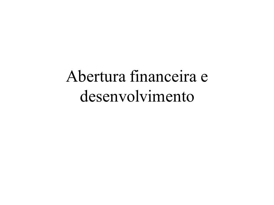 Abertura financeira e desenvolvimento