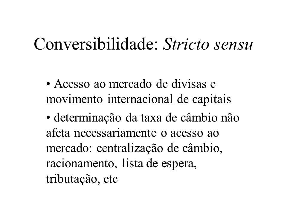 Conversibilidade: Stricto sensu