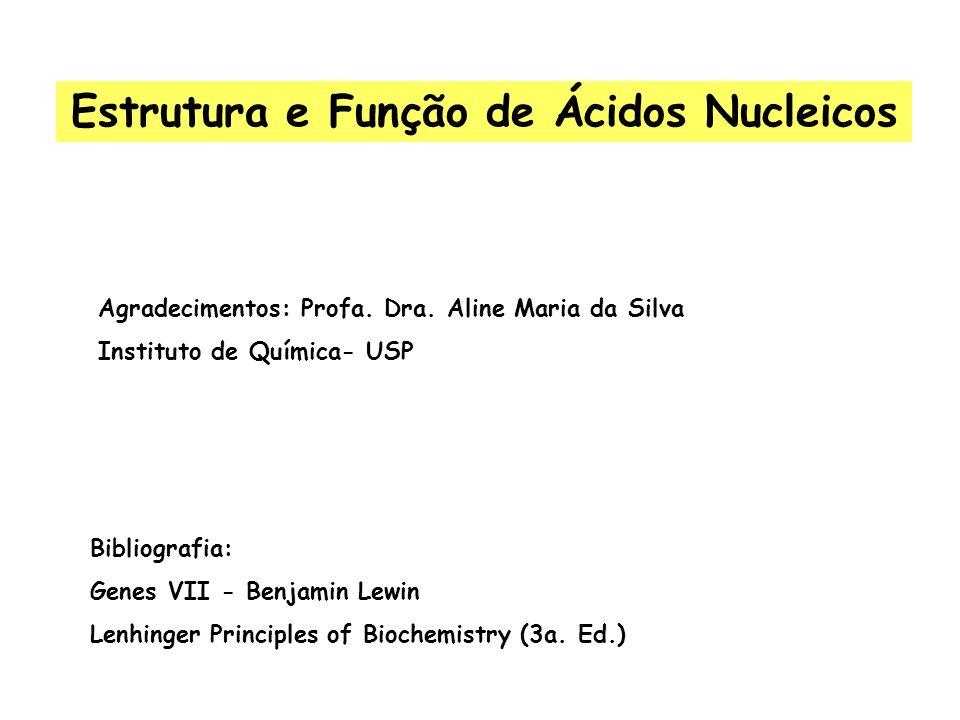 Estrutura e Função de Ácidos Nucleicos