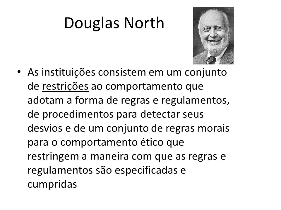 Douglas North