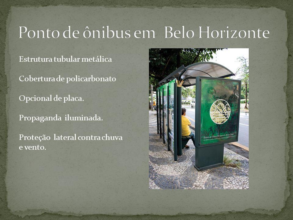 Ponto de ônibus em Belo Horizonte