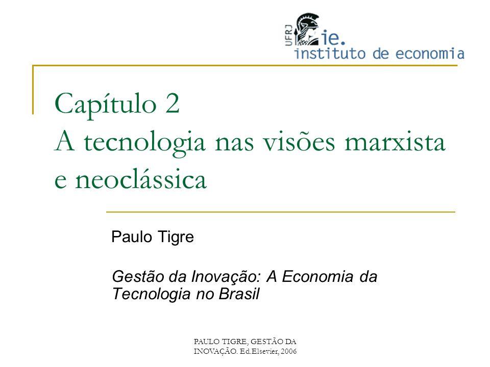 Capítulo 2 A tecnologia nas visões marxista e neoclássica