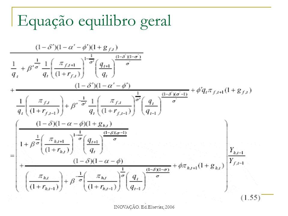 Equação equilibro geral
