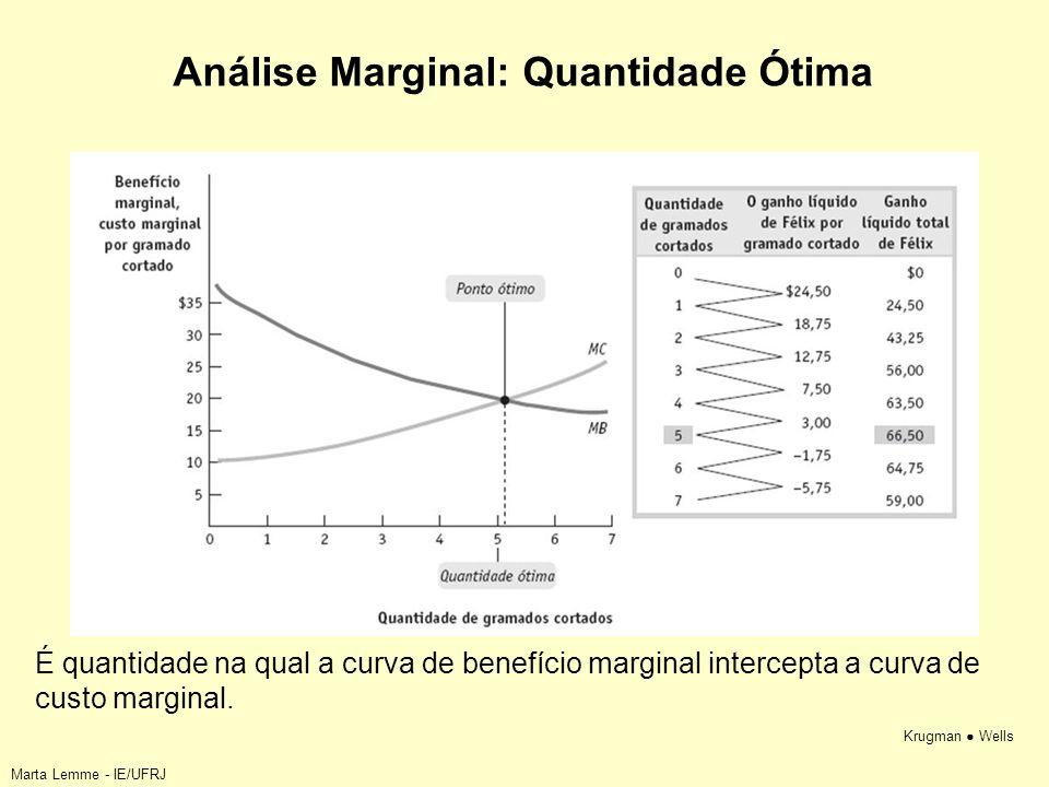 Análise Marginal: Quantidade Ótima