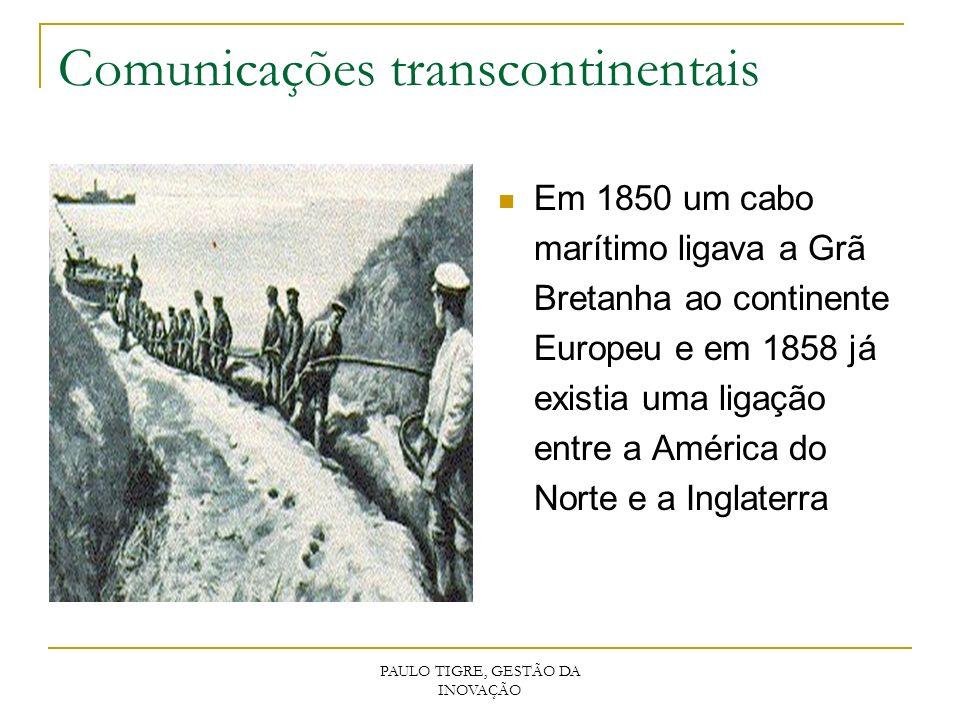 Comunicações transcontinentais