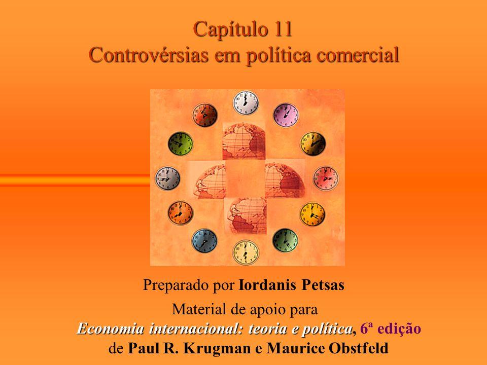 Economia internacional: teoria e política, 6ª edição
