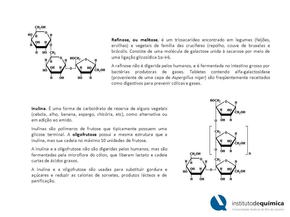 Rafinose, ou melitose, é um trissacarídeo encontrado em legumes (feijões, ervilhas) e vegetais da família das crucíferas (repolho, couve de bruxelas e brócolis. Consiste de uma molécula de galactose unida à sacarose por meio de uma ligação glicosídica 1α→6.