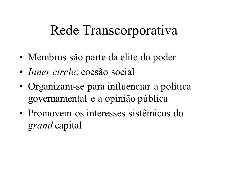 Rede Transcorporativa