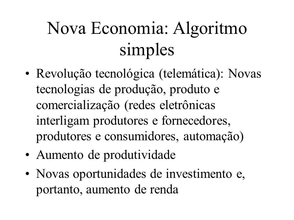 Nova Economia: Algoritmo simples