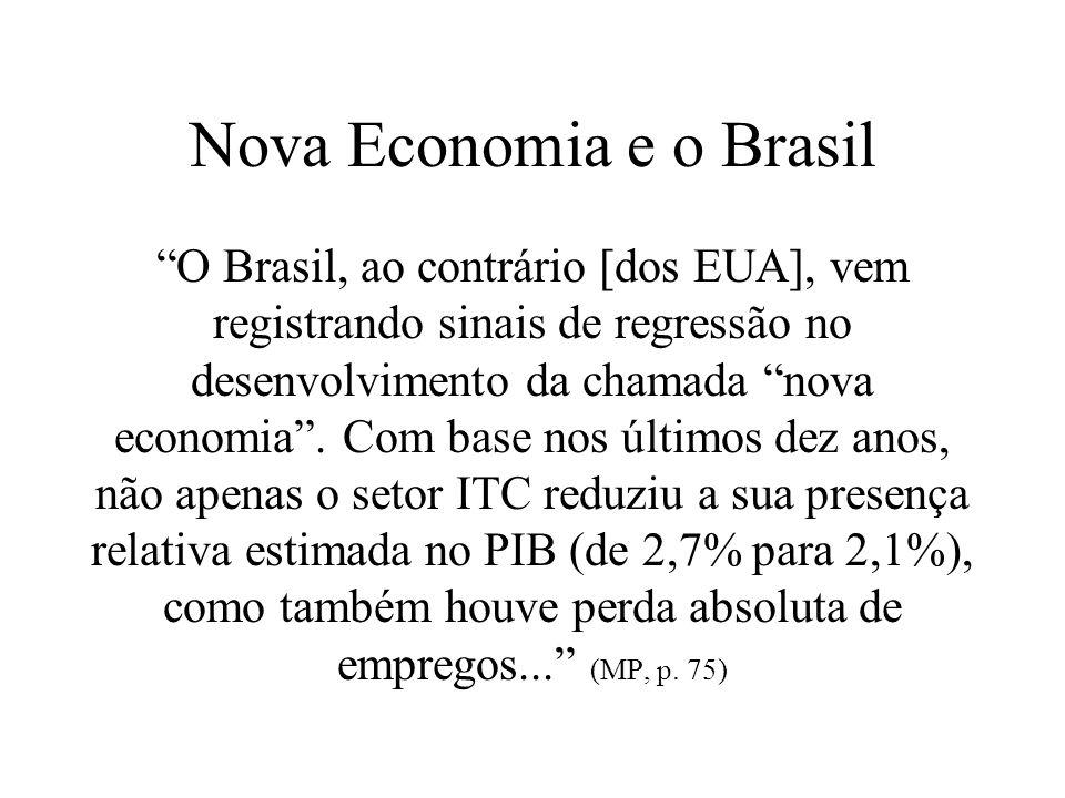 Nova Economia e o Brasil
