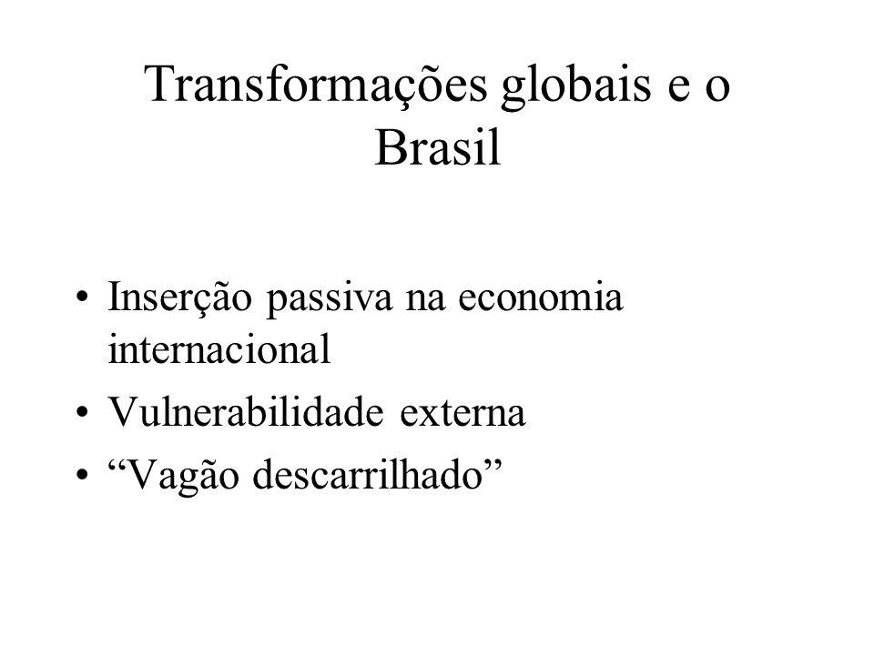 Transformações globais e o Brasil