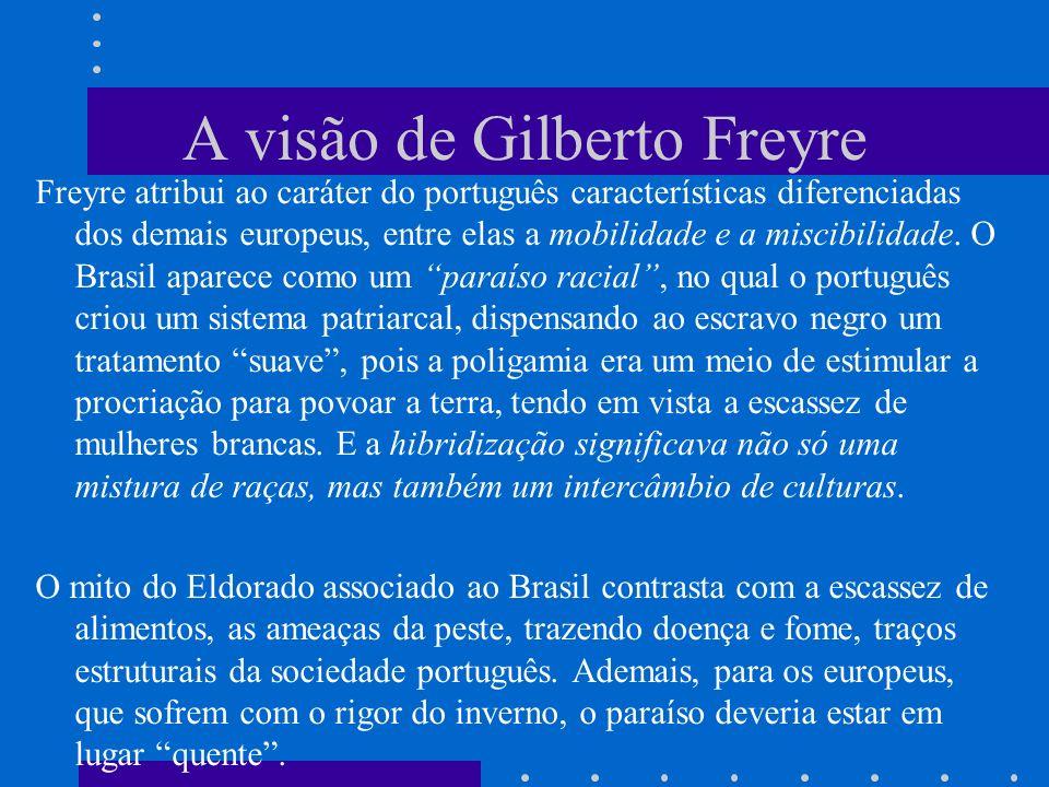 A visão de Gilberto Freyre