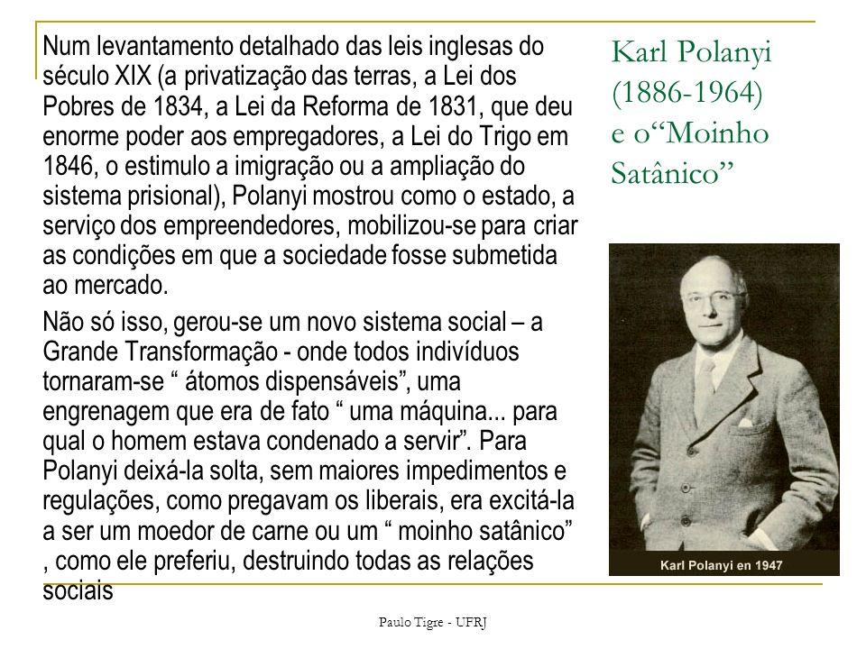 Karl Polanyi (1886-1964) e o Moinho Satânico