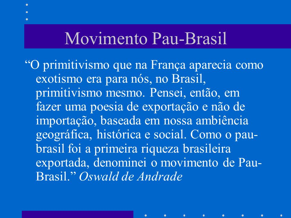 Movimento Pau-Brasil