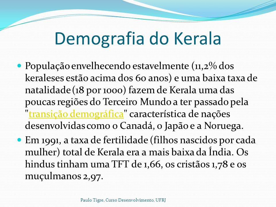Demografia do Kerala