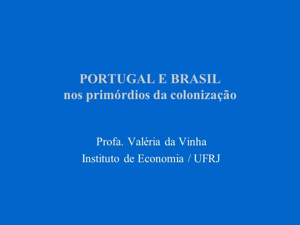 PORTUGAL E BRASIL nos primórdios da colonização