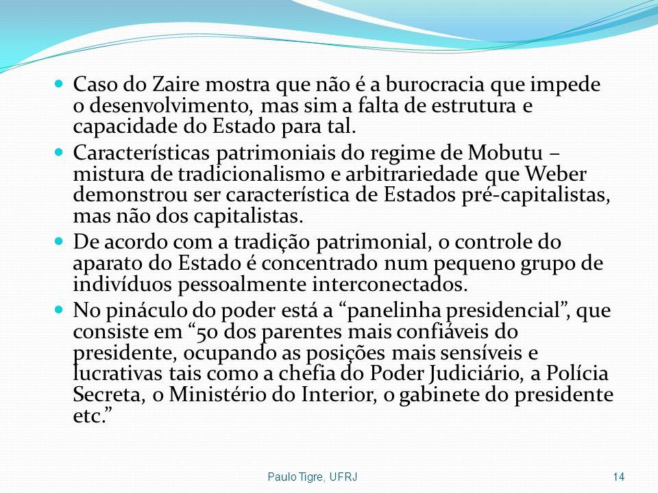 Caso do Zaire mostra que não é a burocracia que impede o desenvolvimento, mas sim a falta de estrutura e capacidade do Estado para tal.