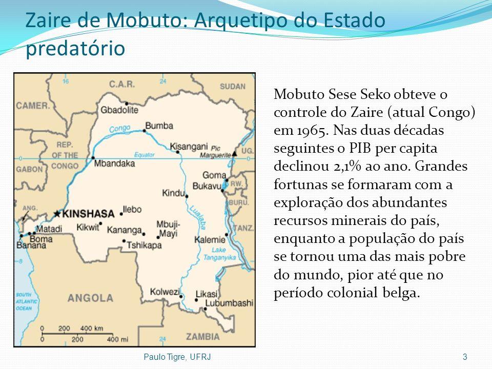 Zaire de Mobuto: Arquetipo do Estado predatório