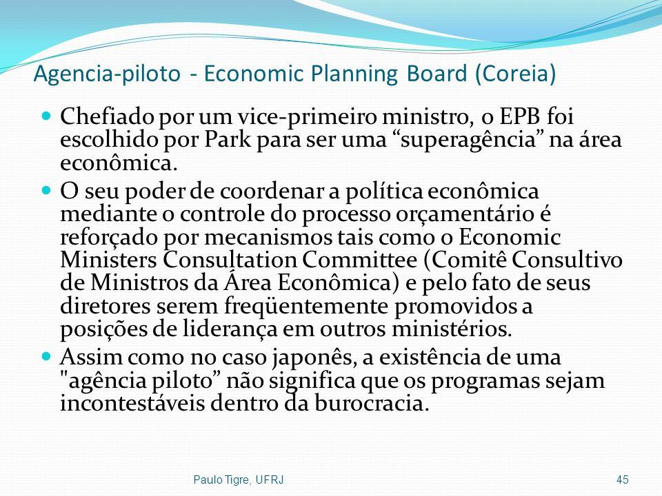 Agencia-piloto - Economic Planning Board (Coreia)