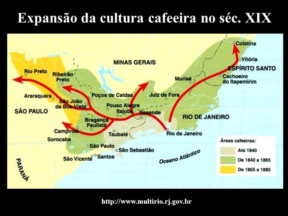 Expansão da cultura cafeeira no séc. XIX