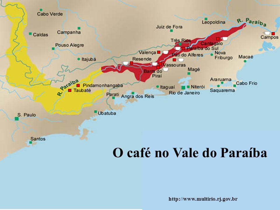 O café no Vale do Paraíba