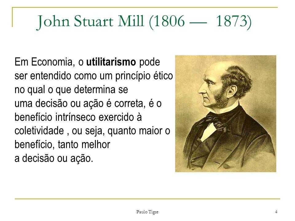 John Stuart Mill (1806 — 1873)