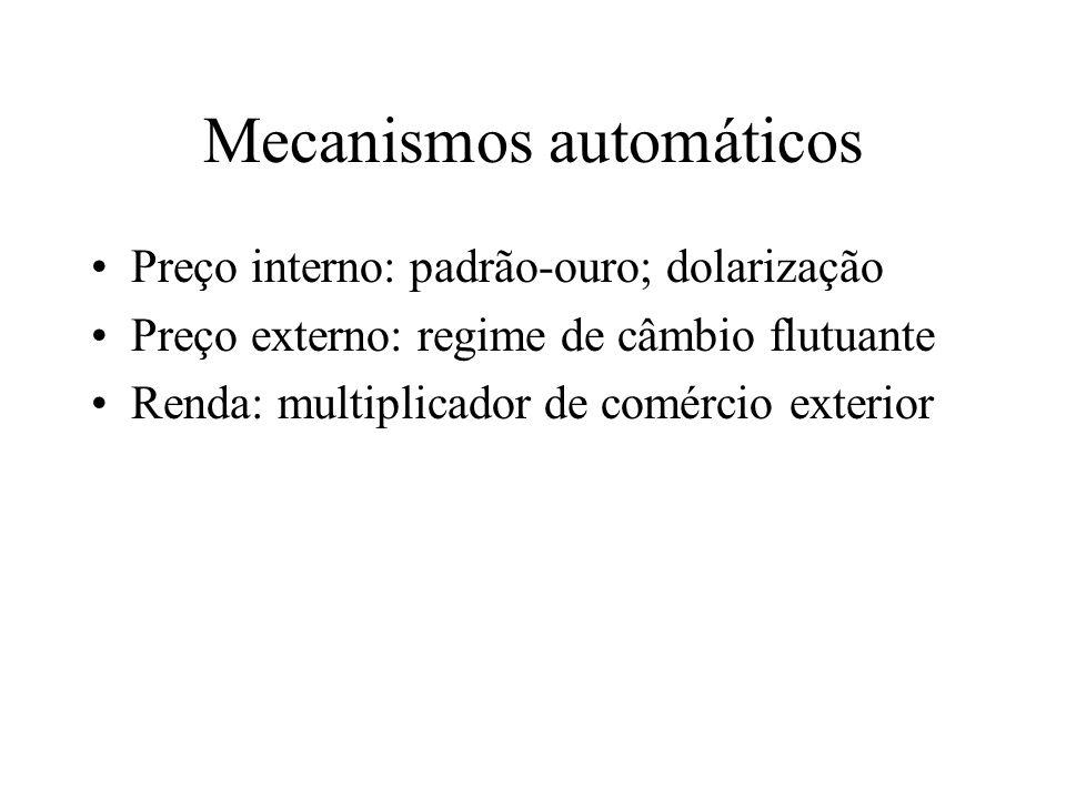 Mecanismos automáticos