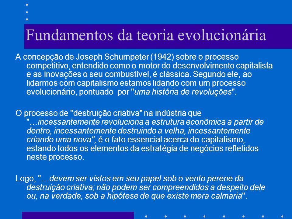 Fundamentos da teoria evolucionária