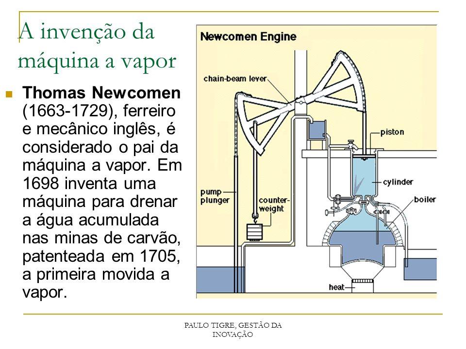 A invenção da máquina a vapor