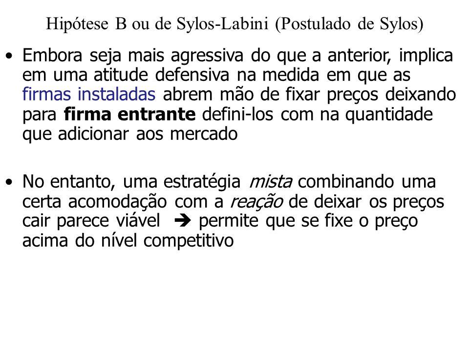 Hipótese B ou de Sylos-Labini (Postulado de Sylos)