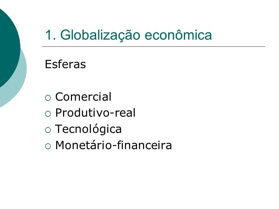 1. Globalização econômica