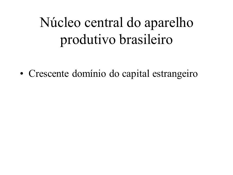 Núcleo central do aparelho produtivo brasileiro